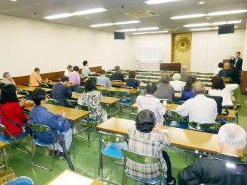 新たに『歎異抄』をテキストとして開催された入門講座