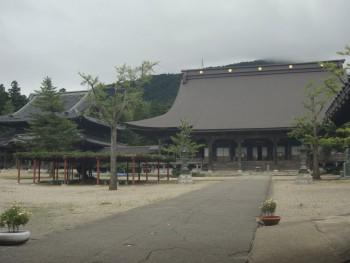 井波別院瑞泉寺本堂と太子堂