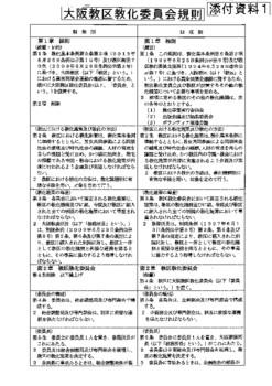 教化委員会規則